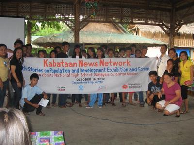 Exhibit in Sablayan, Mindoro
