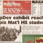 PopDev exhibit reaches 'Capiz Hi' students