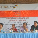 The First Reproductive Health Forum in Laguna: The challenges we faced