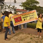 Pro-RH groups protest AAV ordinance