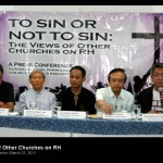 Other Churches express views on the raging RH debate