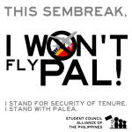 Student councils stand with PALEA, call for PAL boycott this sem-break
