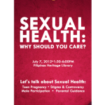 PRESS RELEASE: Sexual health is important to all Filipinos, not just women