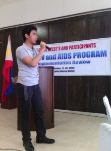 Kenneth Divinagracia of the Regional Epidemiology and Surveillance Unit