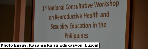 Photo Essay: Kasama ka sa Edukasyon, Luzon!