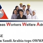 PRESS RELEASE: Examinee from Saudi Arabia tops OWWA exam