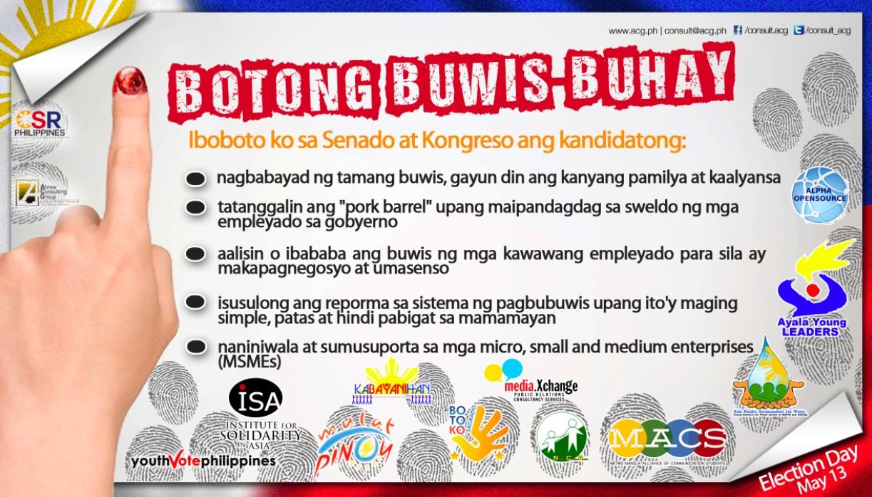 Botong Buwis-Buhay campaign