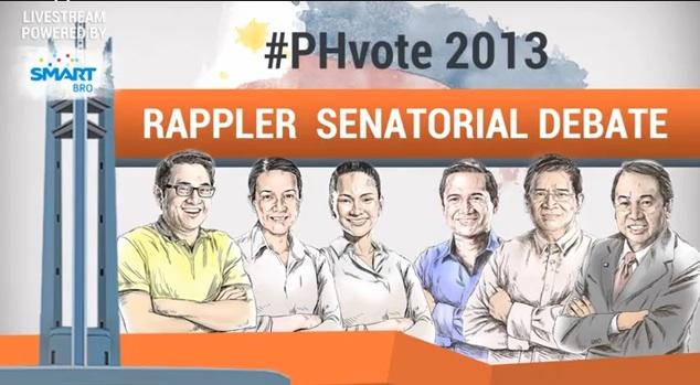 Rappler.com's Senatorial Debate