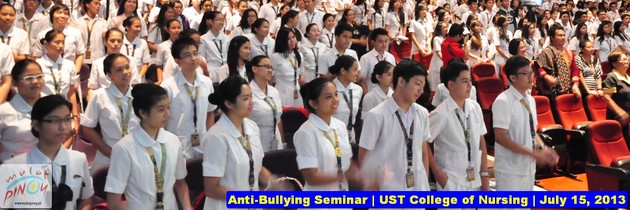 UST nursing students learn about causes and effects of bullying
