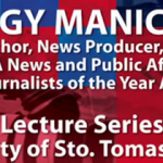 [VIDEO] Broadcaster Jiggy Manicad on Reporters and Their Motivation (#JOYLectures at UST)