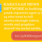 JOIN: Search for MP-KNN Youth Reporters 2014