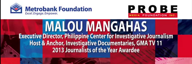 Malou Mangahas Journalists of the Year Lecture Series, UST Manila  snippet  - YouTube_cr