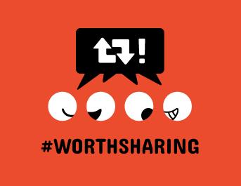 #WorthSharing
