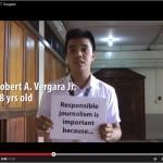 #AspiringJournalists Speak Out: University of Santo Tomas (March 2014)