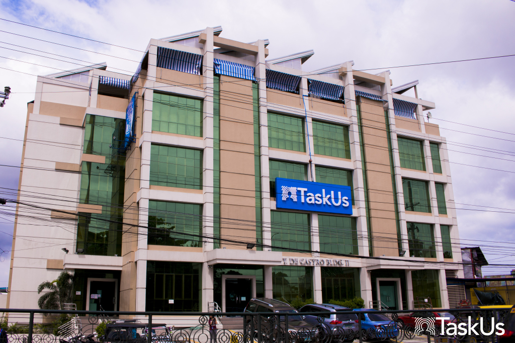 TaskUs building in Bacoor, Cavite | Contributed Photo