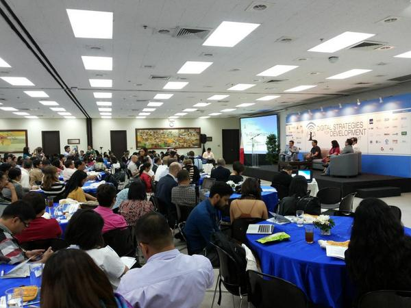 Over 400 participants joined the first Digital Strategies for Development Summit 2014 | Photo by Regina Layug-Rosero