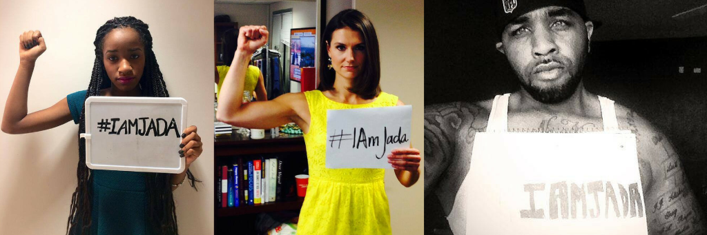 Rape survivor Jada made a 'counterpose' and a hashtag #IAmJada to oppose a slew of photos online doing the #JadaPose