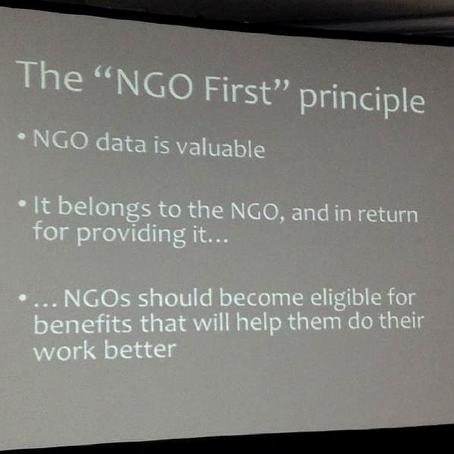 """NGO First"" Principle (Photo by @klaikong)"