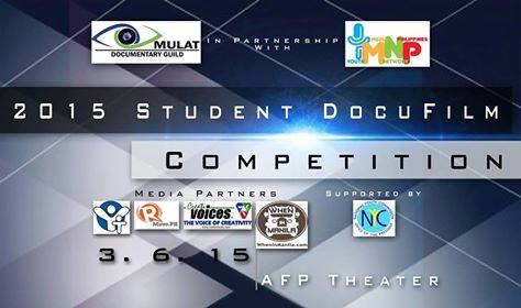 2015 Student DocuFilm Competition is part of the first ever Documentary Summit to be held on 6 March 2015 at the AFP Theater.