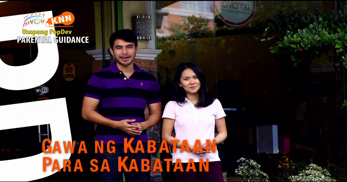 Former Kabataan News Network hosts Atom Araullo and Chiyomi Rances reunited for Usapang PopDev