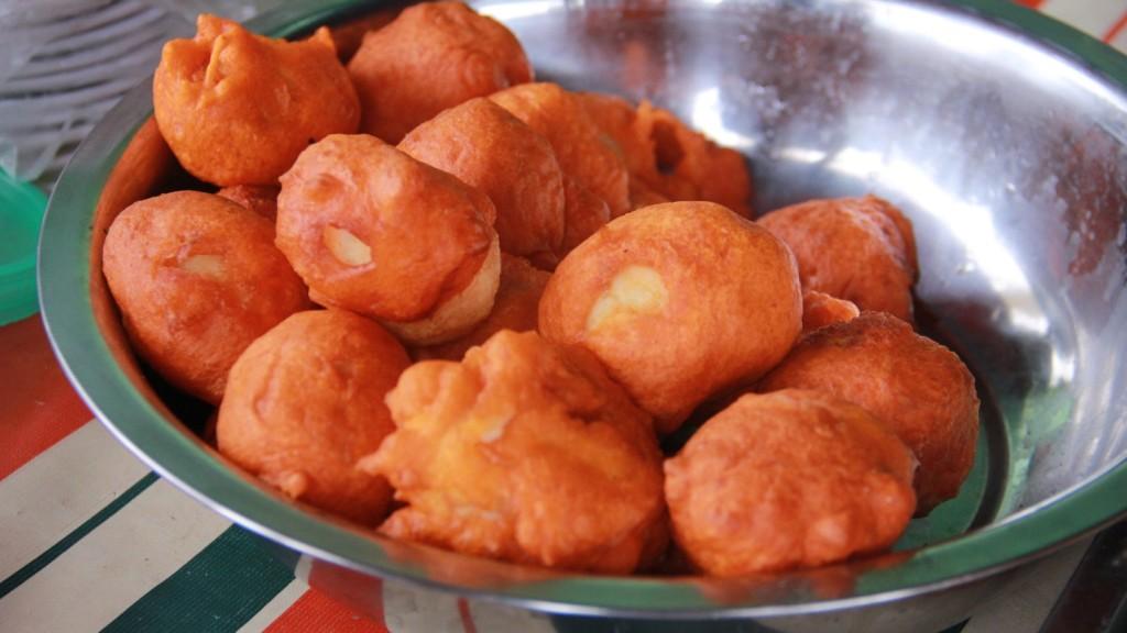 Davao's most sought-after street foods: Kwek-kwek | Photo by Mark Christian Jefferson Tuazon