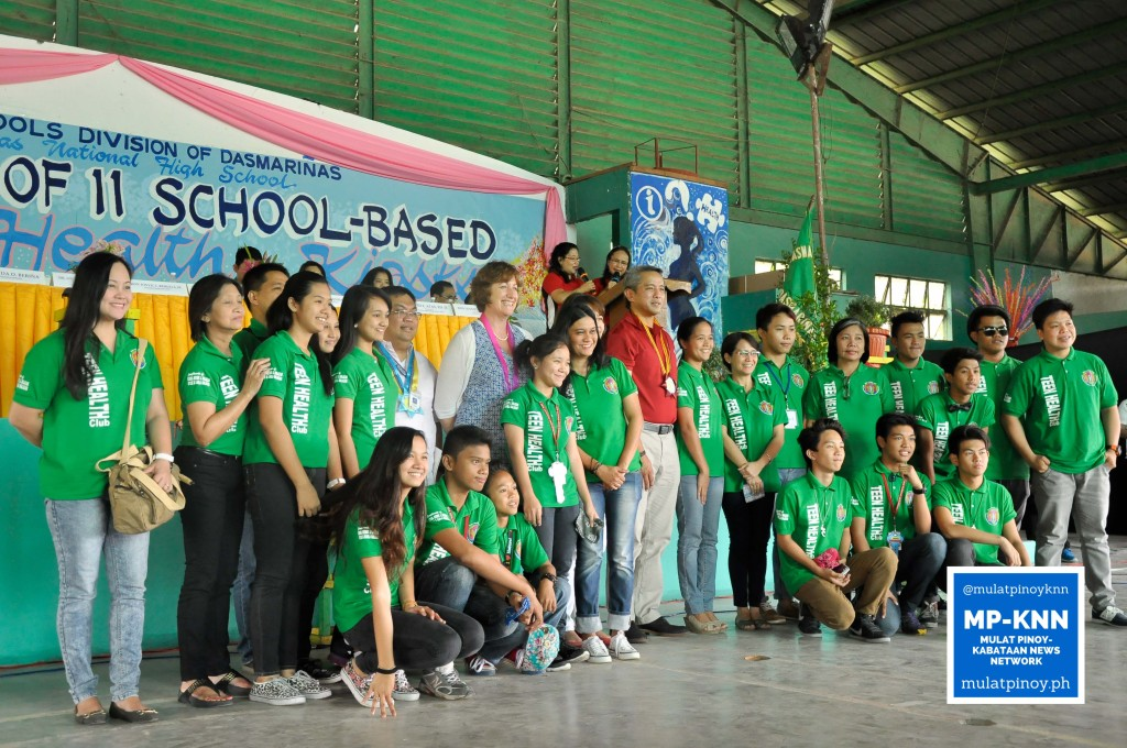Students pose for a group photo after the event | Photo by EM Mendoza/MP-KNN