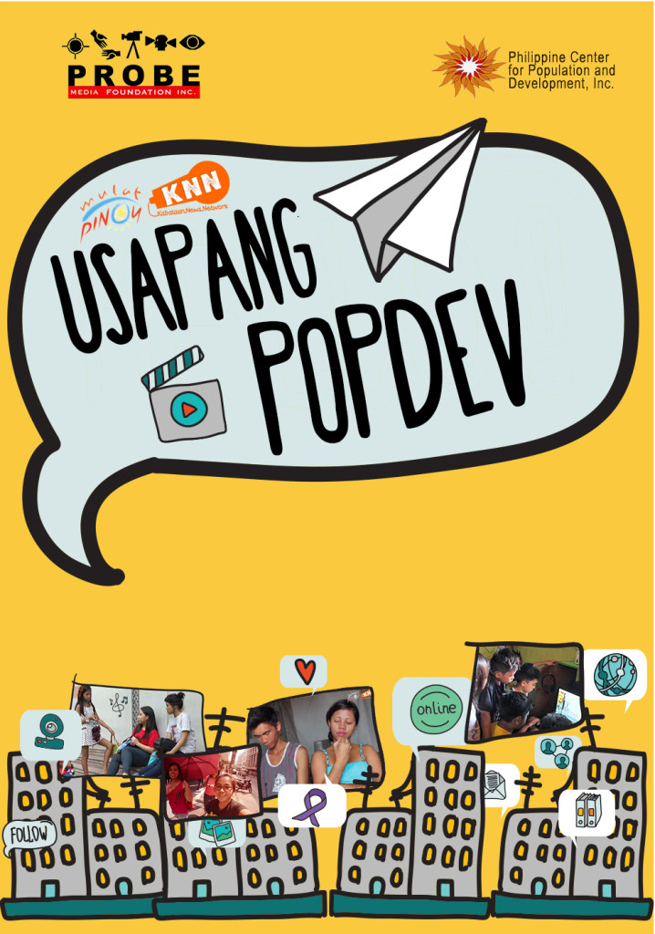 """Usapang PopDev"" documentary include stories made by the youth, for the youth"