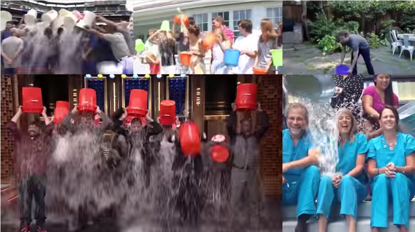The Ice Bucket Challenge is one of the most successful viral campaigns in recent years.