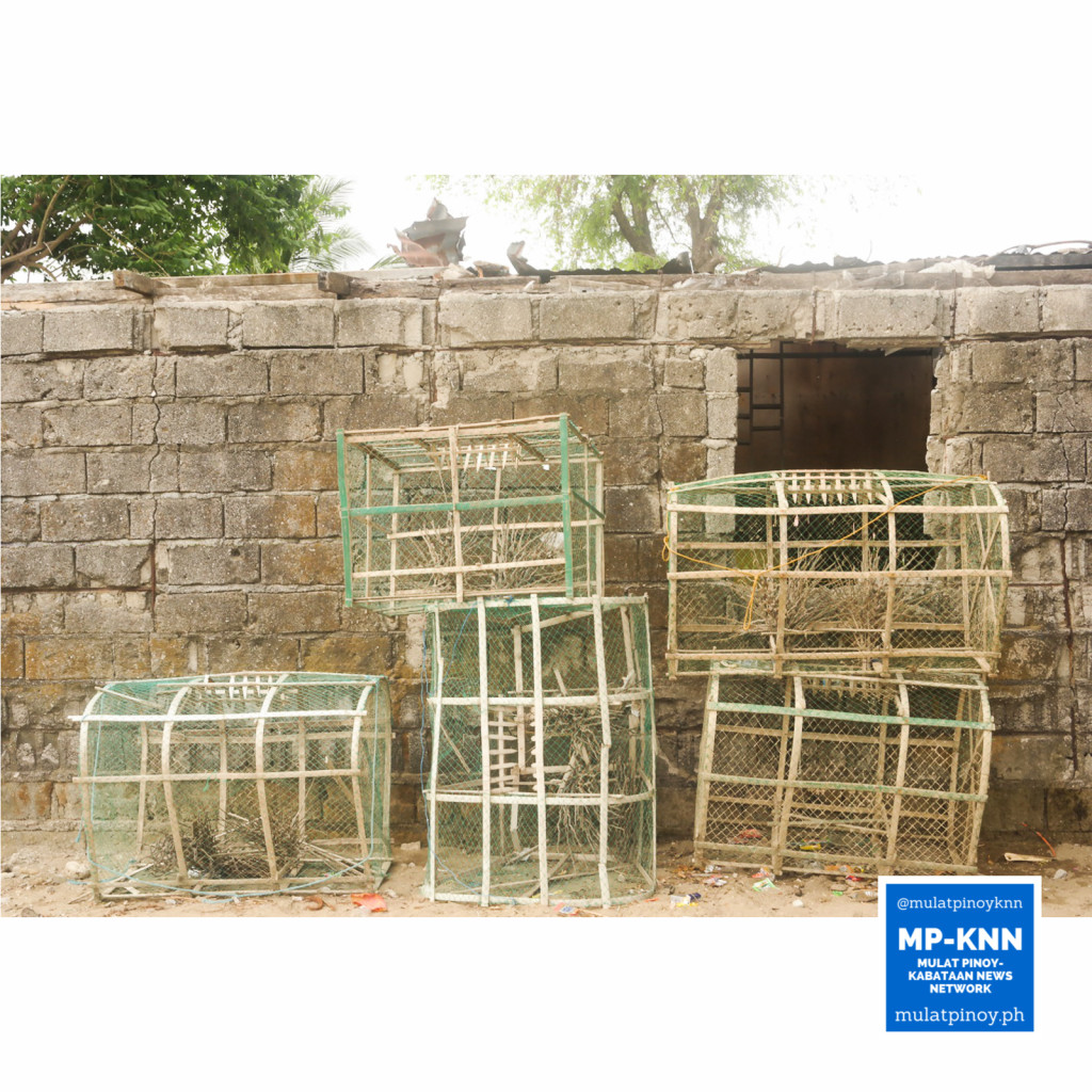 These empty and abandoned fish cages are remnants of the people who chose to start a new life in a resettlement area in Ternate, Cavite. | Photo by Juan Sinag Cano/MP-KNN