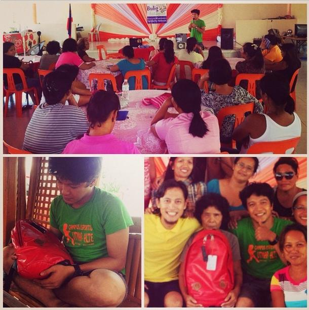 Taclob team   Photo courtesy of Taclob