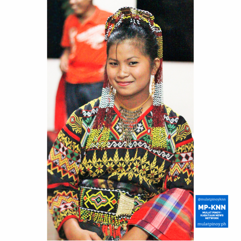 A young T'boli woman poses for the camera as she gets ready to perform one of their traditional dances.   Photo by Meeko Angela Camba/MP-KNN