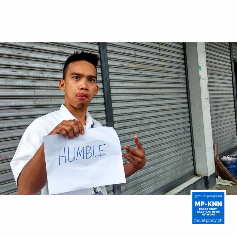 """""""Humble: A leader should always be humble regardless of the achievements he has gained."""" 