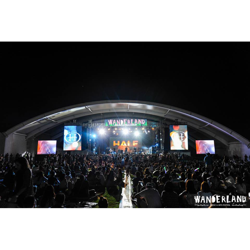 Reunited alternative rock band Hale performs in a huge crowd during the Wanderland Music Festival held on April 25 at the Globe Circuit Events Ground | Photo by Magic Liwanag