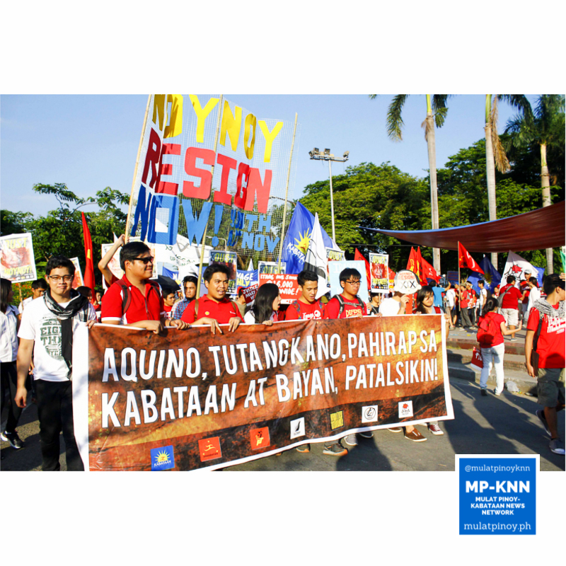Student-leaders stand at the forefront of the youth sector in the May 1 mobilization. | Photo by Pau Requesto/MP-KNN