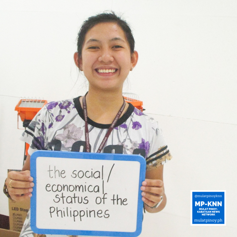 """""""Hearing the national news every day about the never-ending social and economic status of the Philippines urges me to register as an official voter."""" – Sheera Lyn Legara 