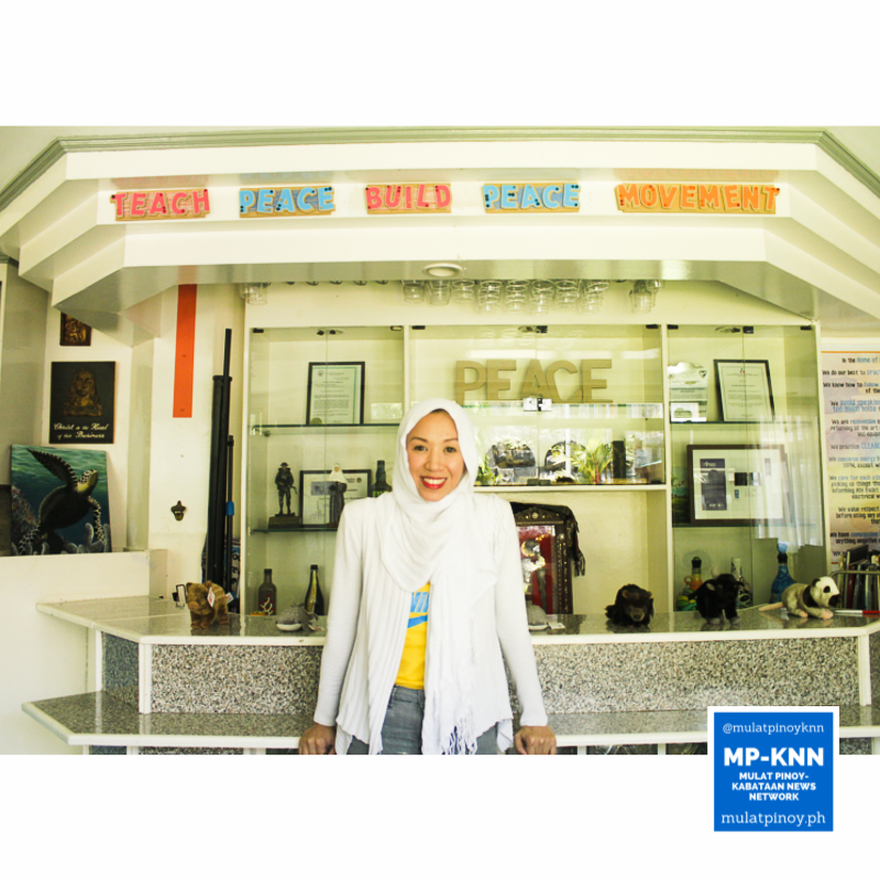 """Witnessing war itself made me strong about my conviction na I'm doing this because I don't want more children to suffer from conflict,"" says Honey Sumndad-Usman of Teach Peace Build Peace (TPBP) Movement 